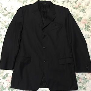 Canali Proposta Men's Black Sports Coat Size 54L